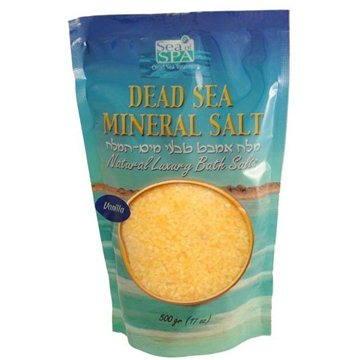 Koupelová sůl SEA OF SPA Minerální sůl do koupele - vanilka 500gr (7290010673025)