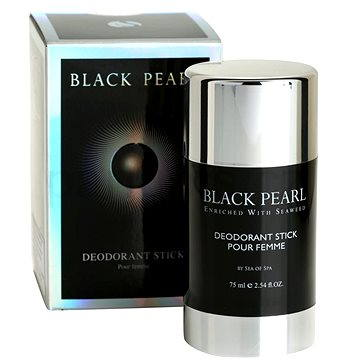Dámský deodorant SEA OF SPA Black Pearl Deodorant Stick pour Femme 75ml (7290013761545)