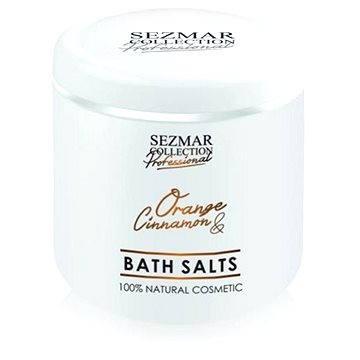 Koupelová sůl SEZMAR PROFESSIONAL Bath Salts Orange and Cinnamon 500 g (3800203821085)