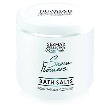 Koupelová sůl SEZMAR PROFESSIONAL Bath Salts Snow Flowers 500 g (3800203821047)