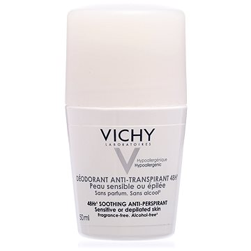 Dámský deodorant VICHY Deodorant Antiperspirant Sensitive 48h Roll-on 50 ml (3337871320324)