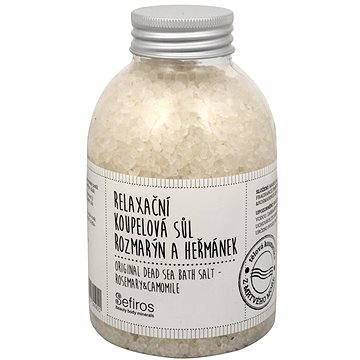 Koupelová sůl SEFIROS Original Dead Sea Bath Salt Rosemary and Camomile 500g (8594057390921)