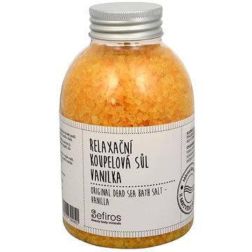 Koupelová sůl SEFIROS Original Dead Sea Bath Salt Vanilla 500g (8594057390891)