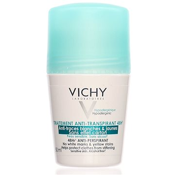 Dámský deodorant VICHY Deo Traitement Anti-transpirant 48h Roll-on 50 ml (3337871324599)