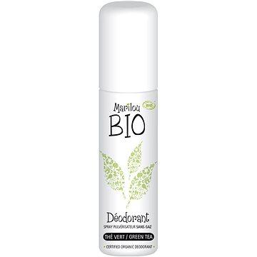 Dámský deodorant MARILOU BIO Green Tea Deodorant Spray 75 ml (3760143830915)
