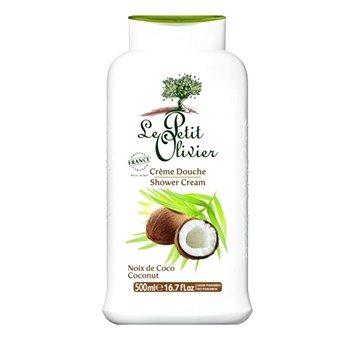 Sprchový krém LE PETIT OLIVIER Sprchový krém Kokos 500 ml (3549620007206) + ZDARMA Sprchový gel SCOTTISH FINE SOAPS Sprchový gel - cestovní balení 50 ml