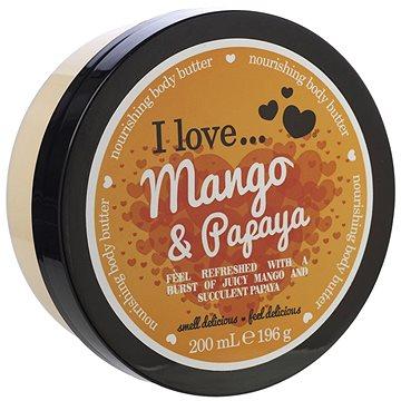 Tělové máslo I LOVE… Nourishing Body Butter Mango & Papaya 200 ml (5060217188262)