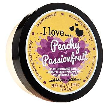 Tělové máslo I LOVE… Nourishing Body Butter Peachy Passionfruit 200 ml (5060348733829)
