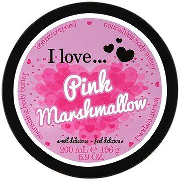 Tělové máslo I LOVE… Nourishing Body Butter Pink Marshmallow 200 ml (5060348737896)