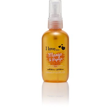 Tělový sprej I LOVE… Refreshing Body Spritzer Mango & Papaya 100 ml (5060217188842)