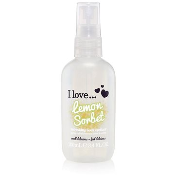 Tělový sprej I LOVE… Refreshing Body Spritzer Lemon Sorbet 100 ml (5060348737865)