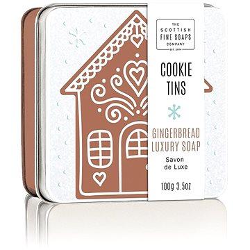 Mýdlo SCOTTISH FINE SOAPS Vánoční mýdlo v plechu Perníčky 100 g (5016365010719)