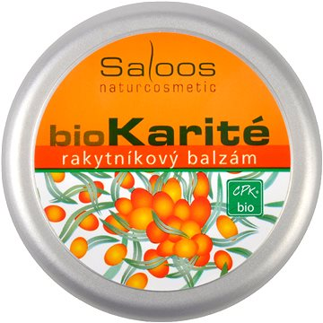SALOOS Bio karité Rakytníkový balzám 50 ml (8594031326472)