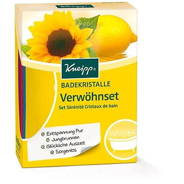 KNEIPP Set solí do koupele 4x60 g