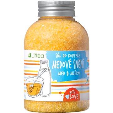 Koupelová sůl LIFTEA Koupelová sůl Medové snění 600 g (8594177900703)