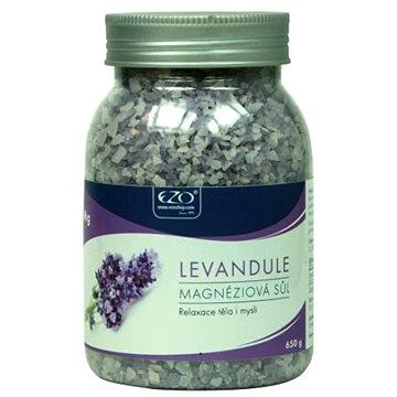 Koupelová sůl EZO Živá magnéziová sůl Levandule 650 g (8586006999026)