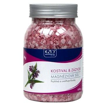 Koupelová sůl EZO Živá magnéziová sůl Kostival & Zázvor 650 g (8586006999040)