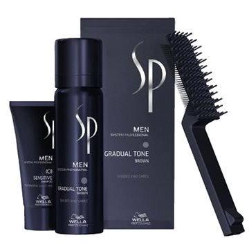Pěna na vlasy WELLA SP Men Gradual Tone Brown 60 ml + Shampoo 30 ml (4015600226077)