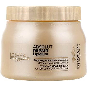 Maska na vlasy ĽORÉAL PROFESSIONNEL Série Expert Absolut Repair Lipidium Mask 500 ml (3474630640825)