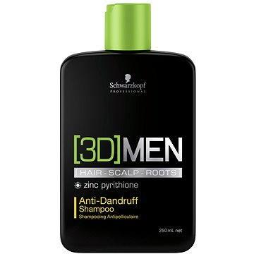 SCHWARZKOPF Professional [3D] Men Anti-Dandruff Shampoo 250 ml (4045787264449)
