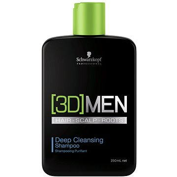 SCHWARZKOPF Professional [3D]Men Deep Cleansing Shampoo 250 ml (4045787264463)
