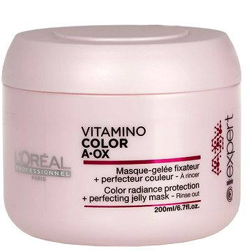 Maska na vlasy ĽORÉAL PROFESSIONNEL Série Expert Vitamino Color AOX Gel Mask 200 ml (3474630714762)