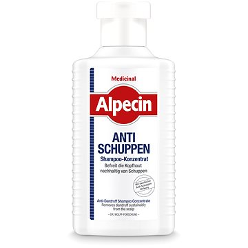 ALPECIN Medicinal Shampoo Concentrate Anti-Dandruff 200 ml (4008666204608)