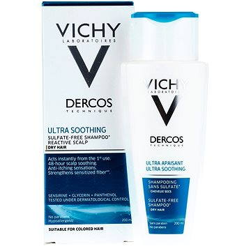 Šampon VICHY Dercos Ultra Soothing Shampoo Dry Hair 200 ml (3337875486736)