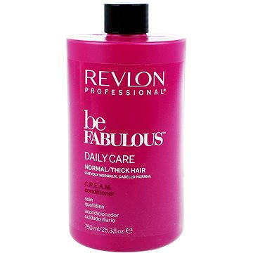 Kondicionér REVLON Be Fabulous Normal/Thick Cream Conditioner 750 ml (8432225077598)