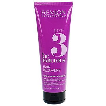 Šampon REVLON Be Fabulous Hair Recovery Step 3 Cuticle Sealer Shampoo 250 ml (8432225077536)