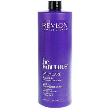 Šampon REVLON Be Fabulous Fine Cream Lightweight Shampoo 1 l (8432225077666)