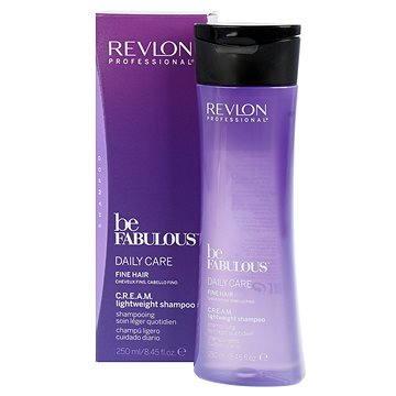 Šampon REVLON Be Fabulous Fine Cream Lightweight Shampoo 250 ml (8432225077697)