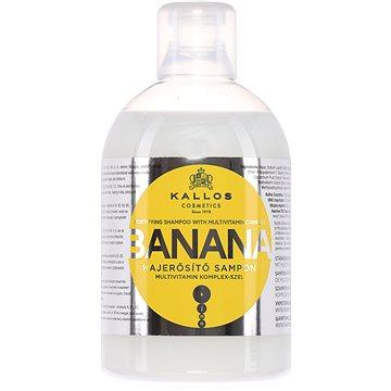 Šampon KALLOS Banana Fortifying Shampoo 1000 ml (5998889511302)