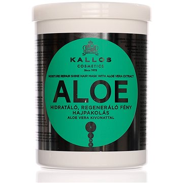 KALLOS Aloe Vera Moisture Repair Shine Hair Mask 1000 ml (5998889511685)