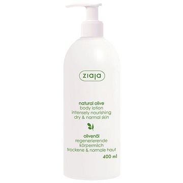 ZIAJA Přírodní oliva Tělové mléko 400 ml (5901887016939)