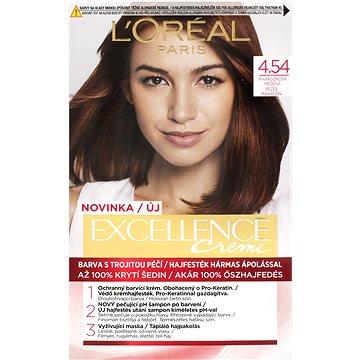 ĽORÉAL PARIS Excellence Creme 4.54 Mahagonová měděná (3600523822423)