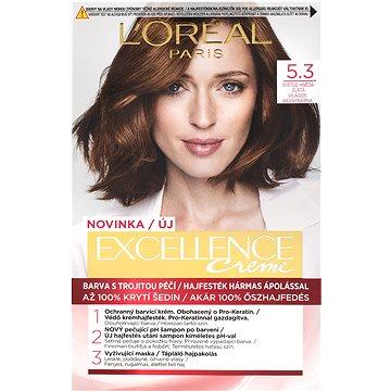 ĽORÉAL PARIS Excellence Creme 5.3 Světle hnědá zlatá (3600523822348)