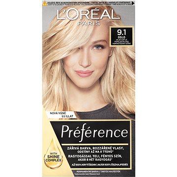 ĽORÉAL PARIS Préférence 9.1 Oslo Světlá popelavá blond (3600523913442)
