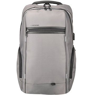 "Kingsons Business Travel Laptop Backpack 15.6"" šedý (KS3140W_grey)"