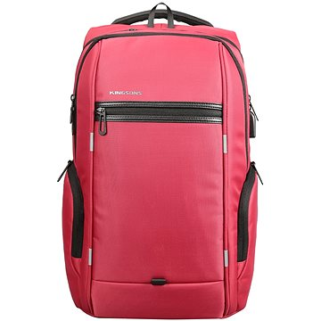 "Kingsons Business Travel Laptop Backpack 15.6"" červený (KS3140W_red)"