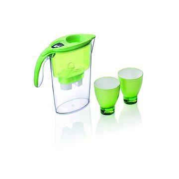 LAICA set Stream, 2 ks skleničky + 3 ks Biflux zelená (J947E)