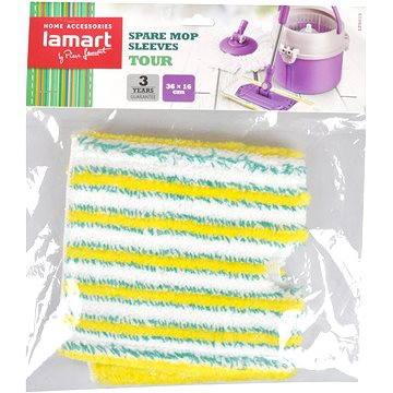 Příslušenství Lamart Náhradní mop plochý Tour LT8019 (42001502)