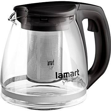 Lamart Konvice 1.1l černá Verre LT7025 (42002257)