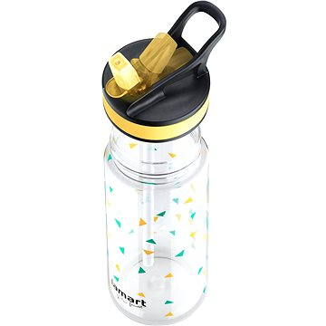 Lamart Sportovní lahev 0.5l žlutá Straw LT4035 (42002122)