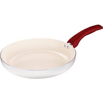 Lamart Set Keramických pánví 24cm, 28cm a wok 28cm Ecolor bílá