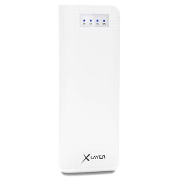 Xlayer Powerbank Carbon 15000mAh bílá (207682)