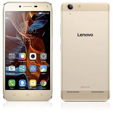 Lenovo K5 Gold (PA2M0029CZ) + ZDARMA Pouzdro na mobilní telefon Lenovo Flip Case K5 Black