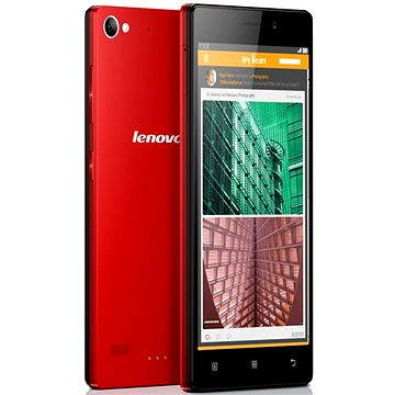 Lenovo VIBE X2 Red (P0RM0021CZ) + ZDARMA Power Bank Mobile Battery 2600 mAh Pouzdro Lenovo Flip Cover Gold pro VIBE X2 Digitální předplatné Týden - roční