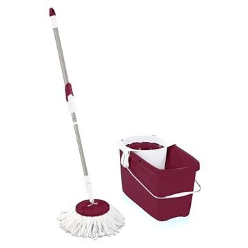 Mop Leifheit Clean Twist Mop, vínový 52059 (4006501520593)