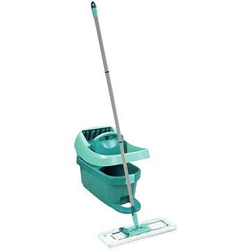 Mop Leifheit Set mop Profi+vědro Profi s nášlapným ždímáním s kolečkami 55096 (4006501550965)
